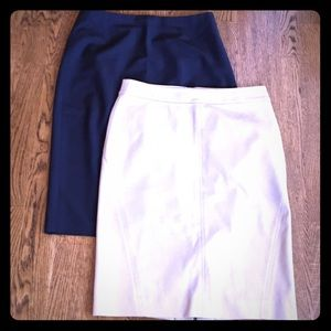 Pair of Ann Taylor skirts